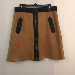 eci New York beige skirt